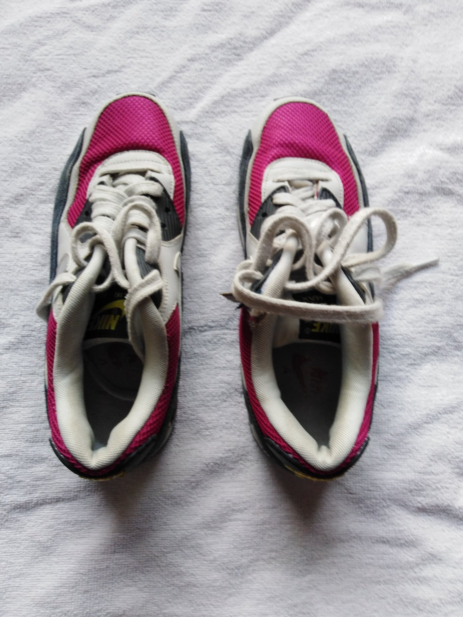 Nike air skor rosa vita m?rkgr? silver stl: 39 (349987367