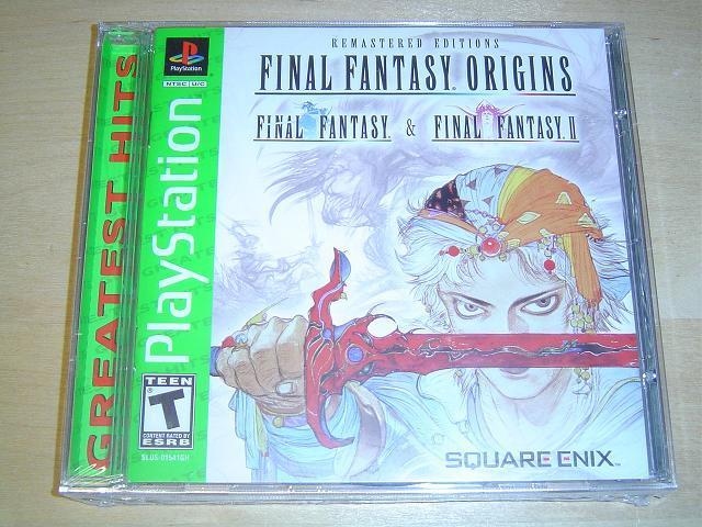 FINAL FANTASY ORIGINS SONY PLAYSTATION USA NTSC *NYTT*