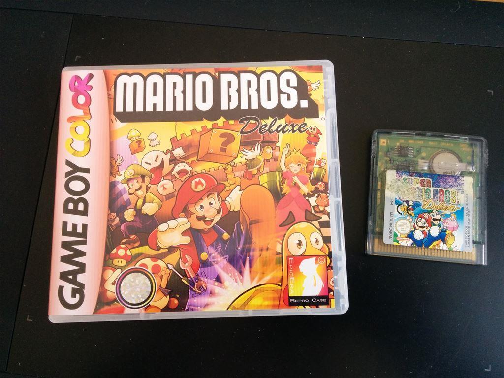 Game boy color super mario bros deluxe - Super Mario Bros Deluxe Till Nintendo Gameboy Color