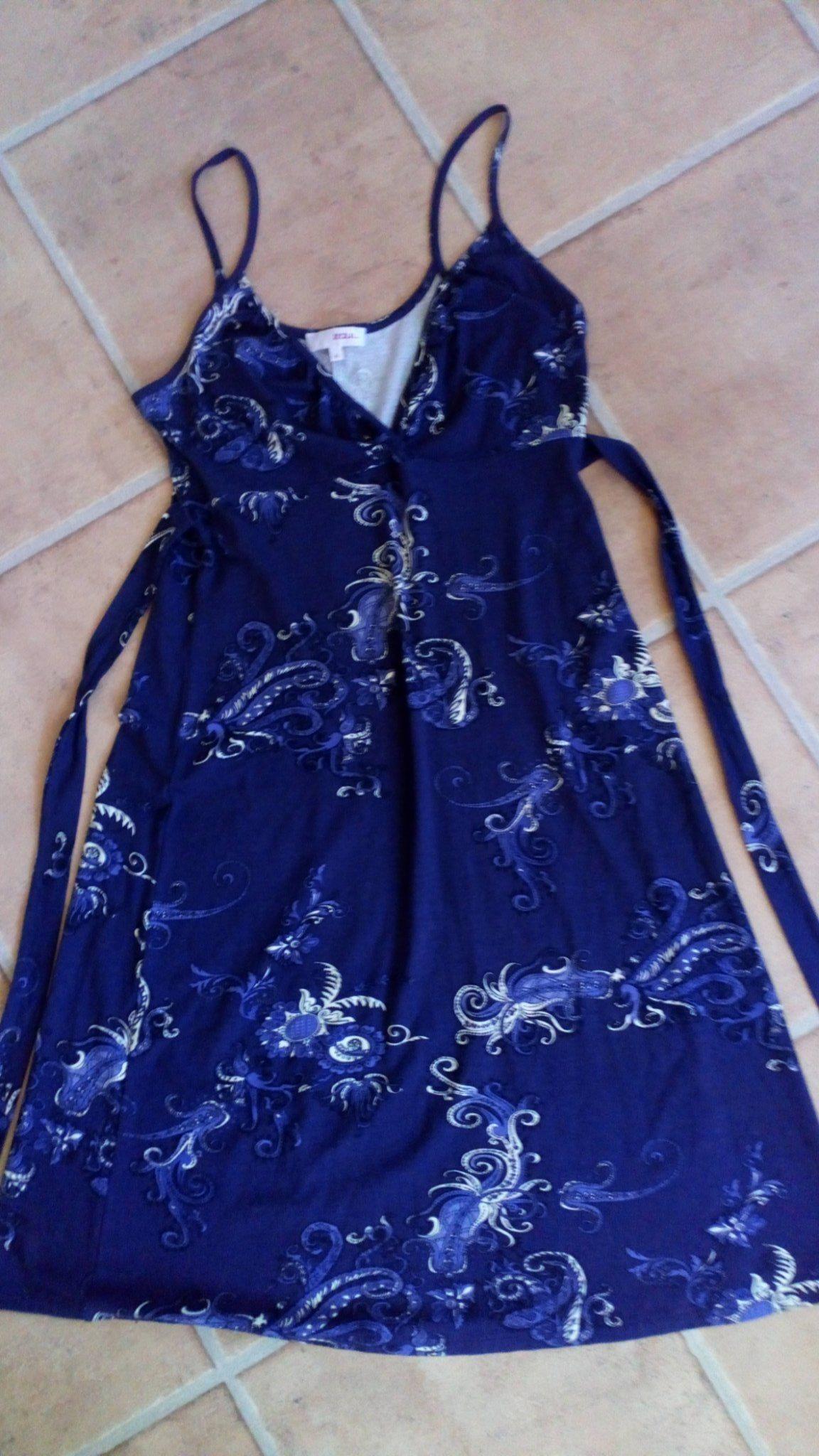 ef0de526 Zoul MQ Jersey Dress Stretch Trikå Aubergine Vacker Klänning Str M 36-38  som Ny ...