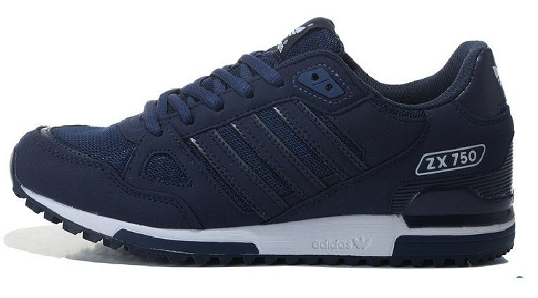 Köpa adidas originals svart herr skor zx 750 trainers vita