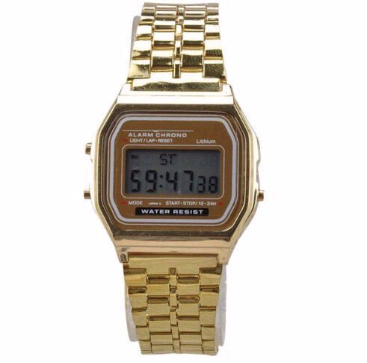 digital klocka med dag och datum