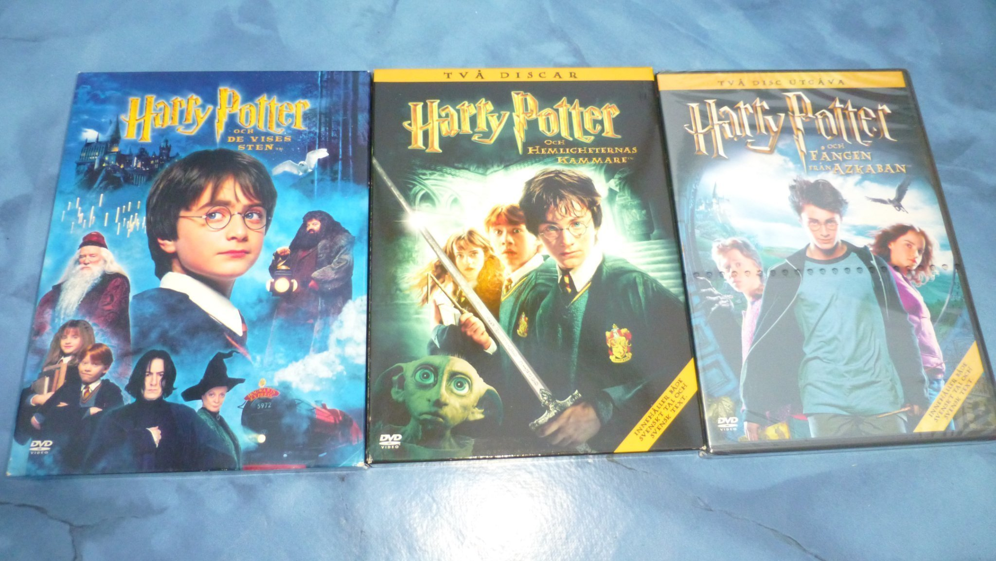 Harry potter dvd svenskt tal