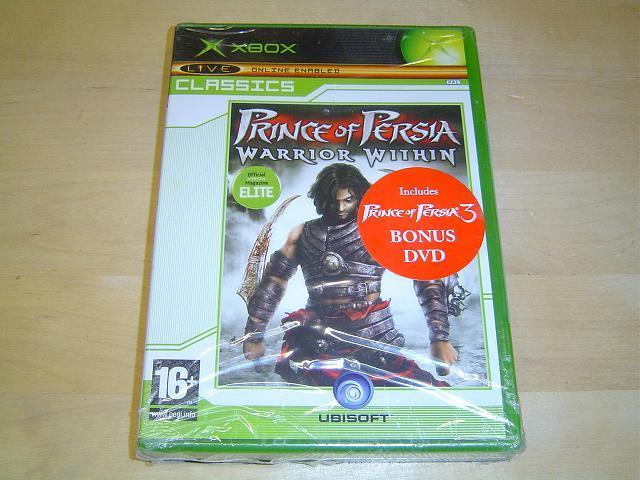 Prince of Persia Warrior Within + DVD Microsoft Xbox *NYTT*