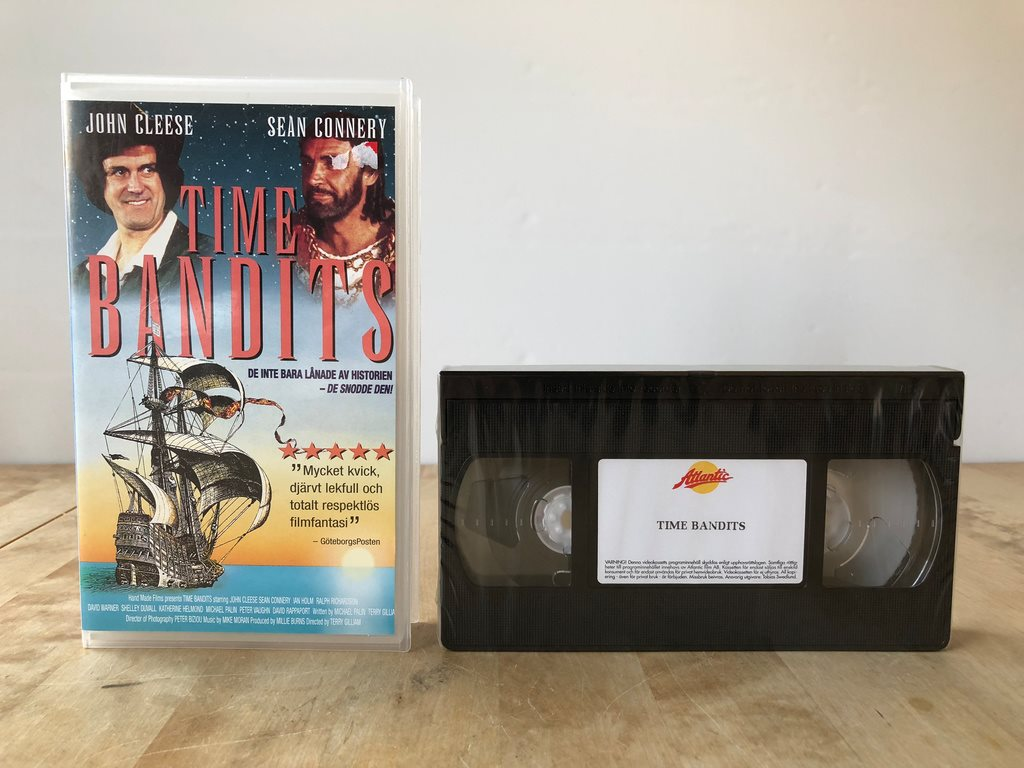 Time Bandits - Inplastad vhs - John Cleese Sean Connery