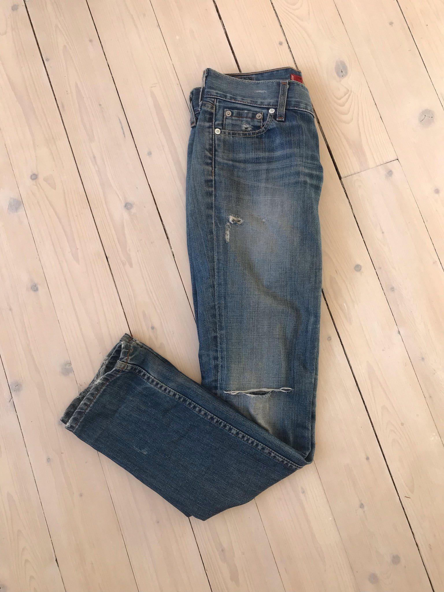e2df3dea966 Jeans Patty Anne, Levis, stl 27/32 (344615224) ᐈ Köp på Tradera