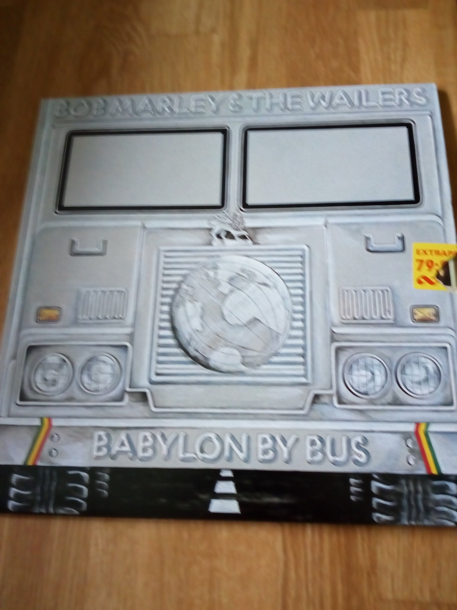bob marley babylon by bus dubbel lp