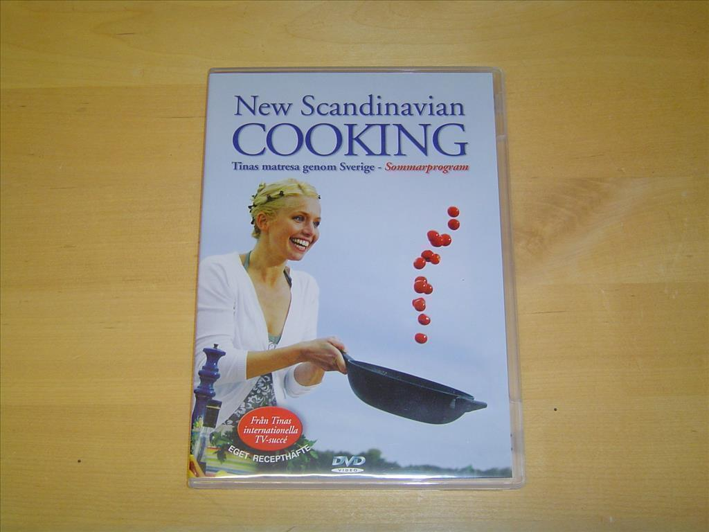 New Scandinavian Cooking Tinas Matresa Genom Sverige DVD