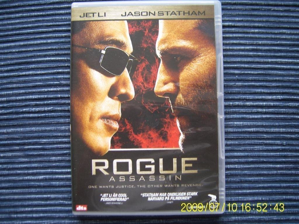 DVD - Rogue assassin