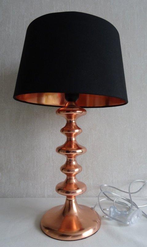 Kanon Lampa Bordslampa med svart skärm och glödlampa .. (354971244) ᐈ HH-18