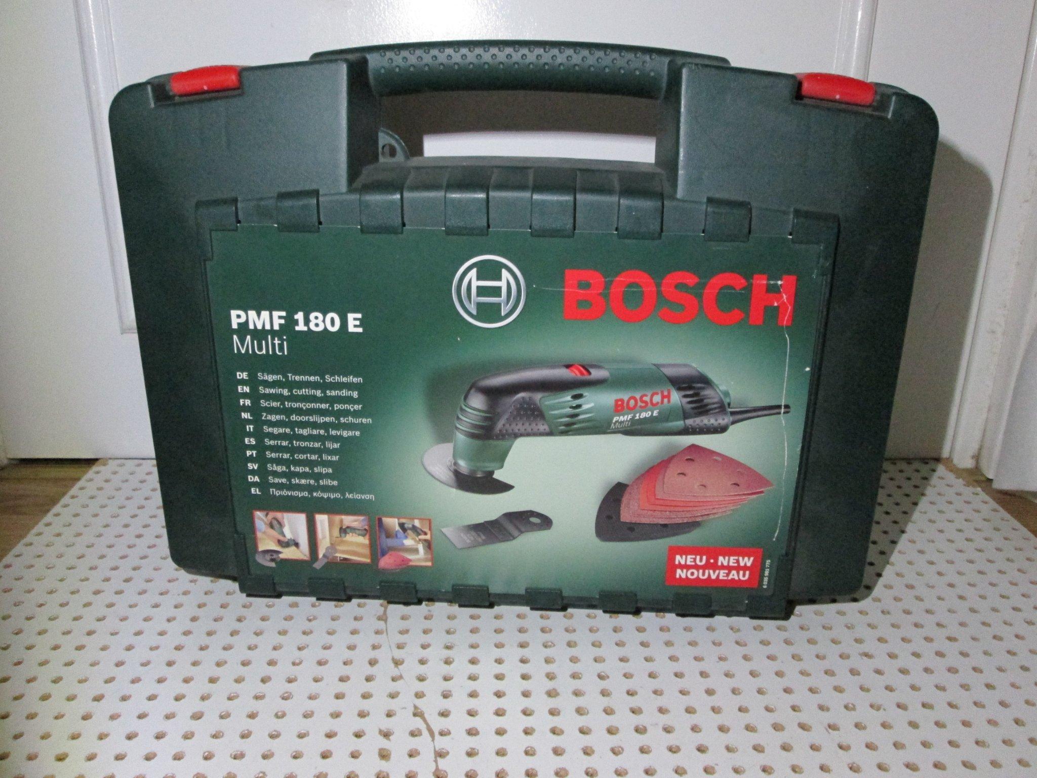 Super Multiverktyg Bosch PMF 180 E (356051354) ᐈ Köp på Tradera YI-24