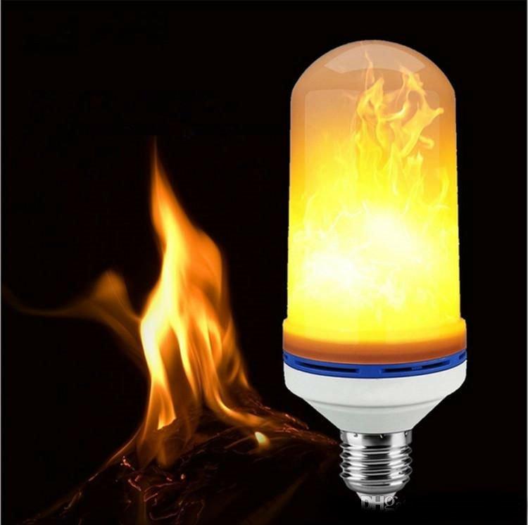 Flammande LED lampa | Partykungen
