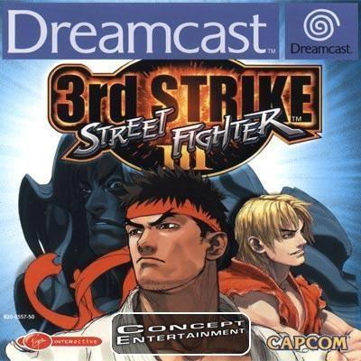 STREET FIGHTER 3 III - 3RD STRIKE / THIRD (komplett) till Sega Dreamcast