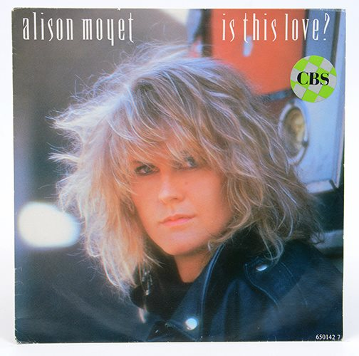 Alison Moyet - Is This Love? CBS 650142 7 Singel 1986