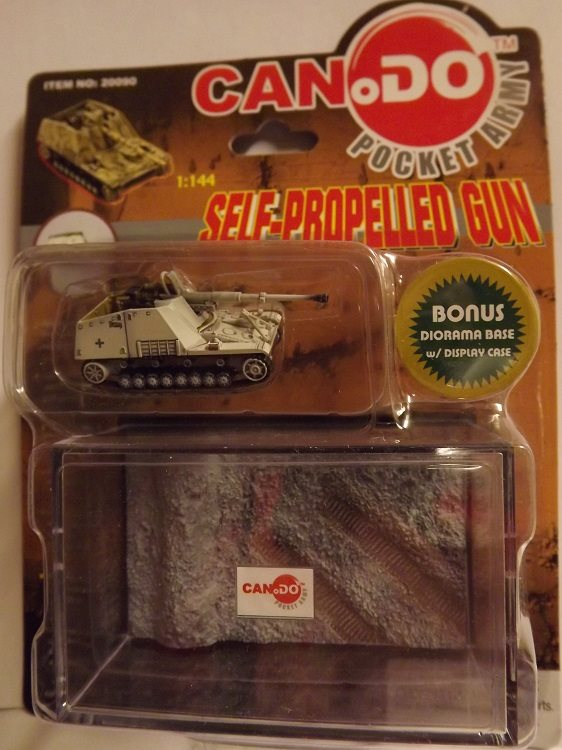 SELF-PROPELLED GUN    #E   CANDO / DRAGON 1/144 FÄRDIGBYGGD