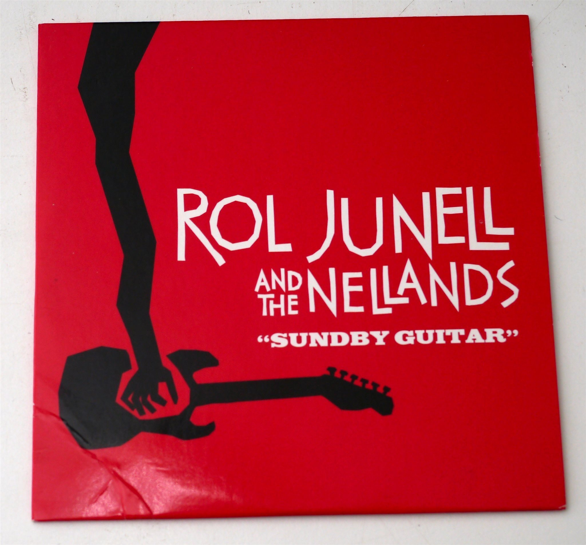 Rol Junell and the Nellands / Sundby Guitar CD pappersomslag