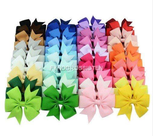 40st Rosetter Kids Girls Headwear Fri Frakt Helt Ny