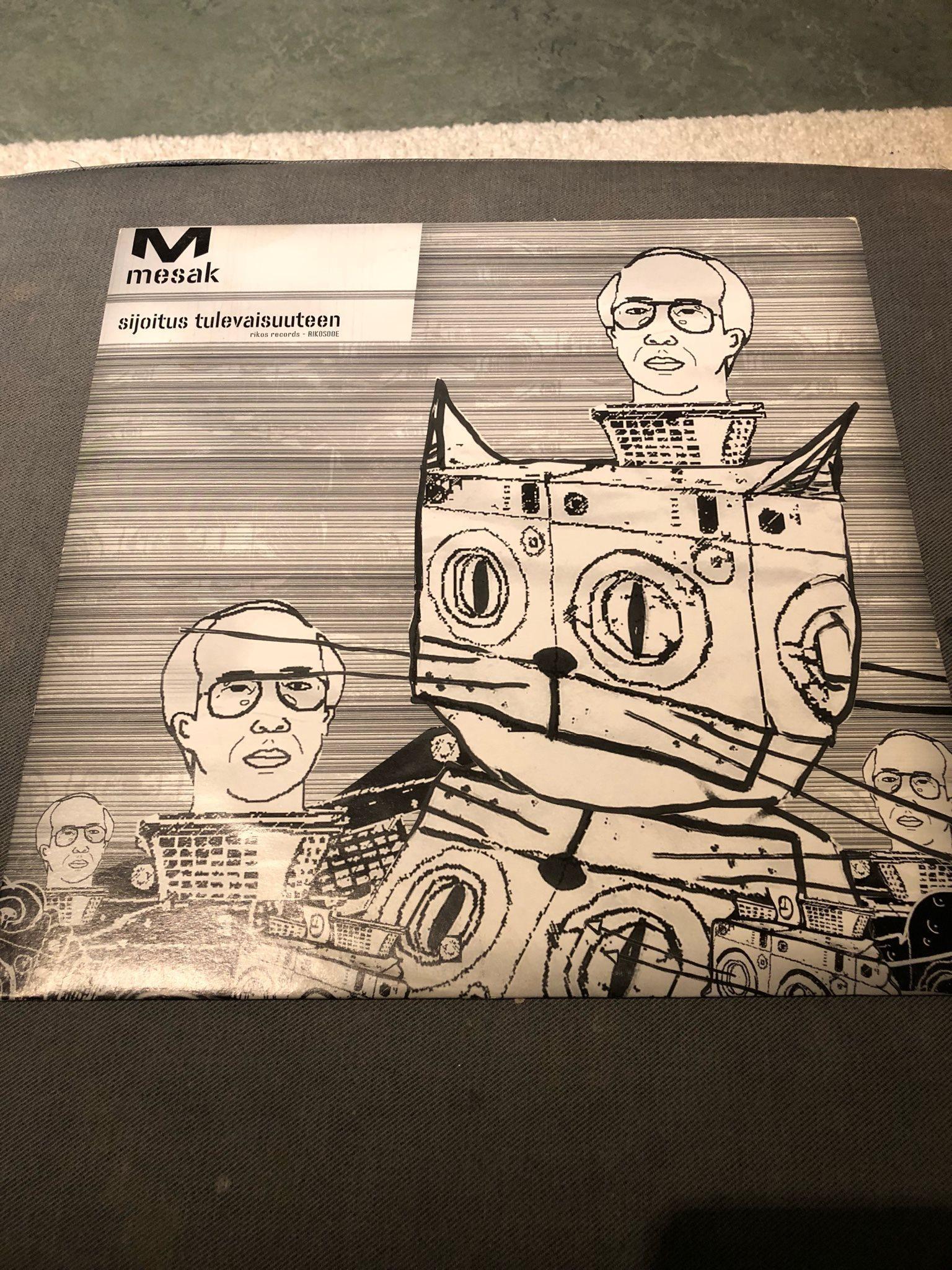 e51e079a557bbc Mesak (Tatu Metsätähti ) Sijoitus Tulevaisuuteen - Rikos Records RIKOS00E