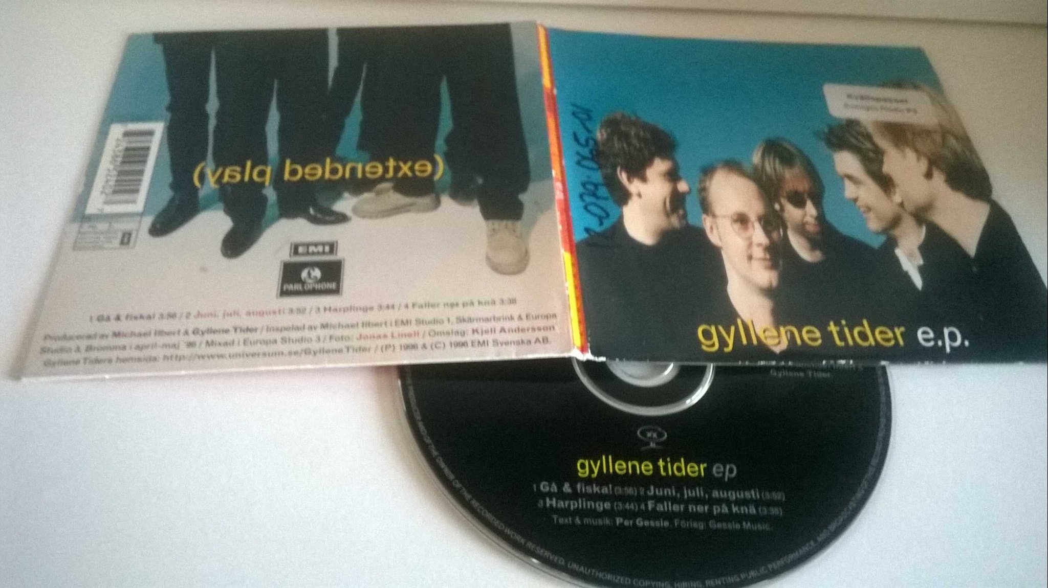 Gyllene Tider - E.P. single CD
