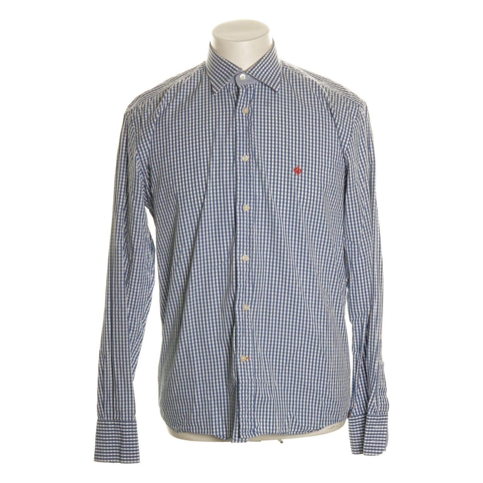 Morris, Skjorta, Strl: 40, Blå/Vit