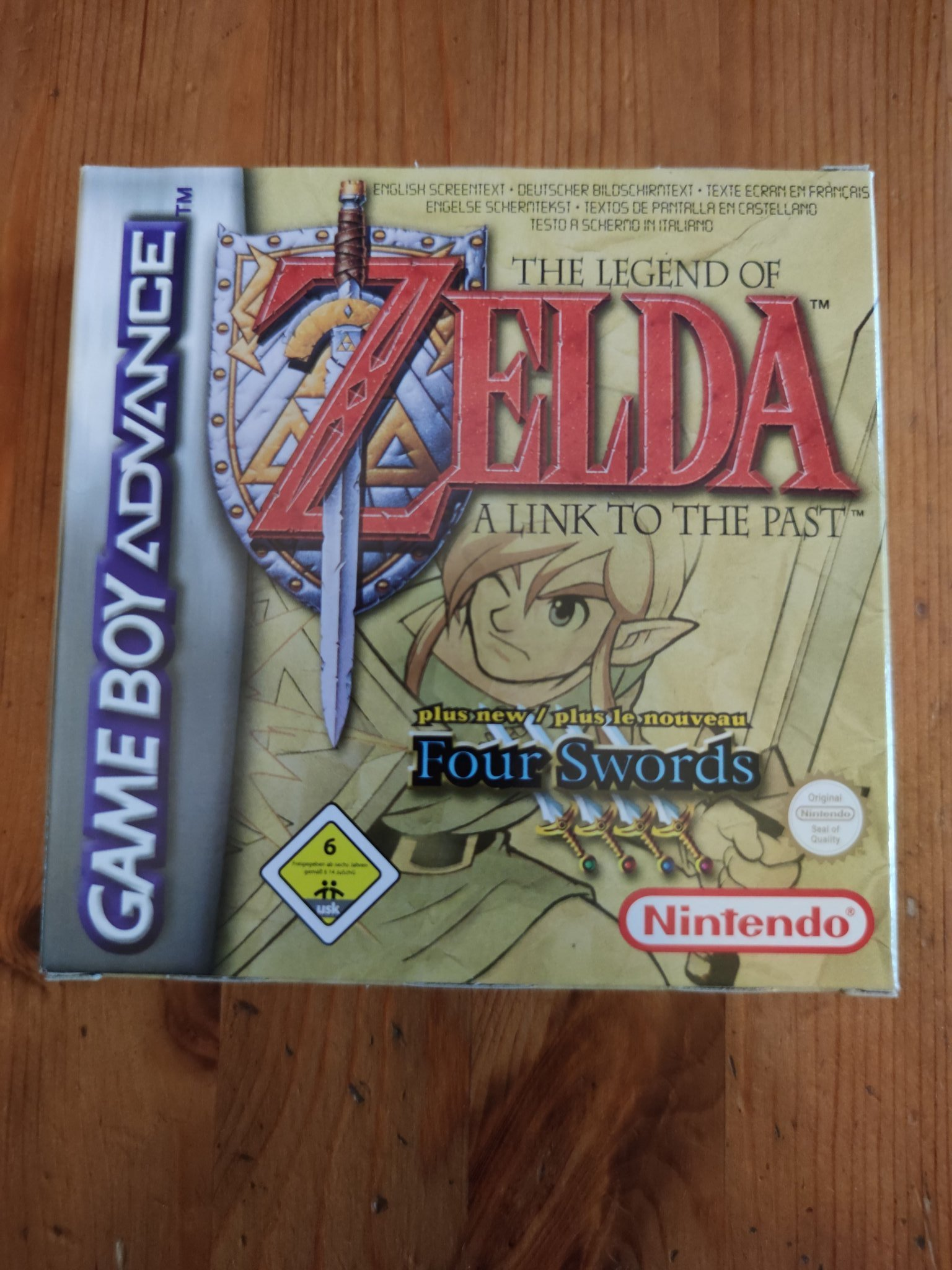 Zelda: A Link to the Past / Four Swords ~ Game Boy Advance ~ Nyskick!