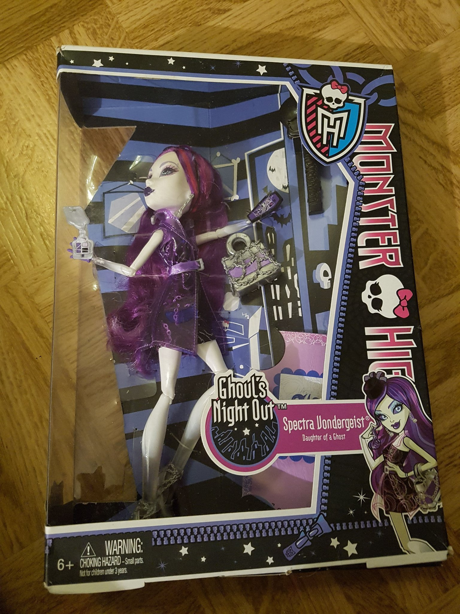 Monster High Ghoul's Night Out Spectra Vondergeist