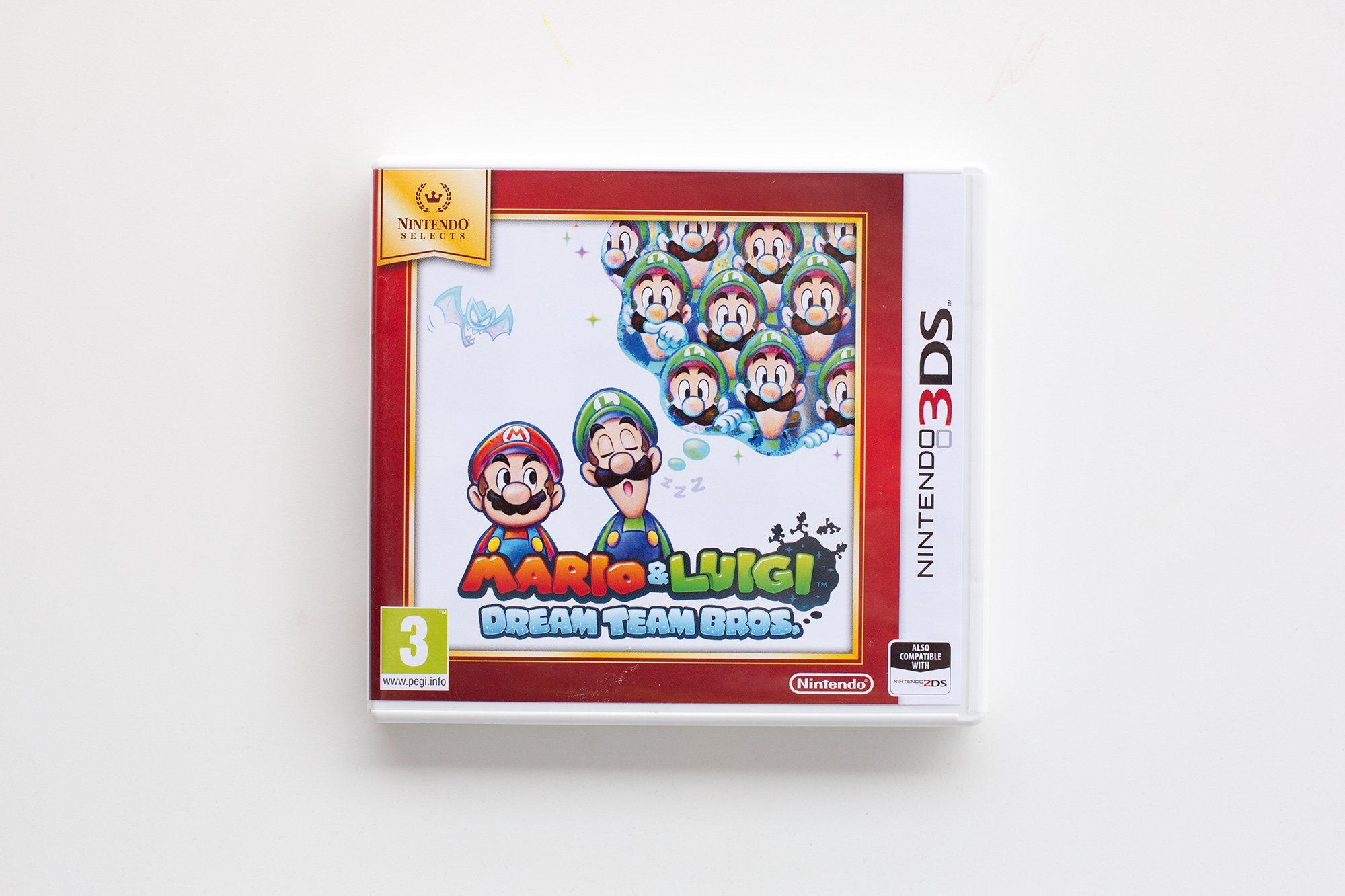 Mario & Luigi Dream team bros, 3ds