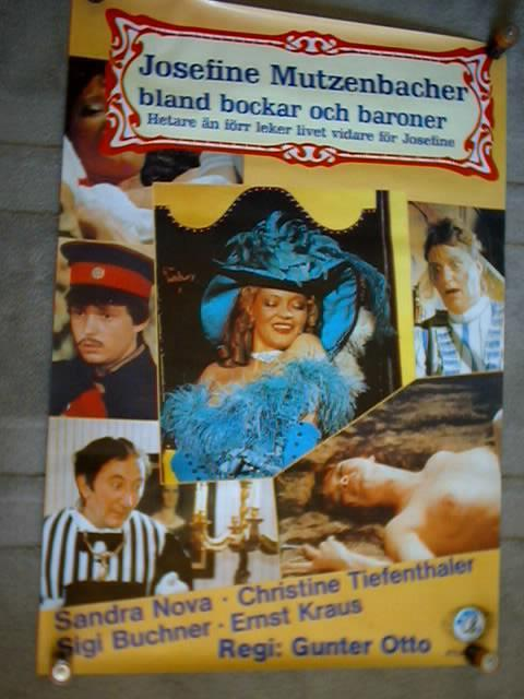 JOSEFINE MUTZENBACHER -BLAND BOCKAR OCH BARONER 1984 70X100 på