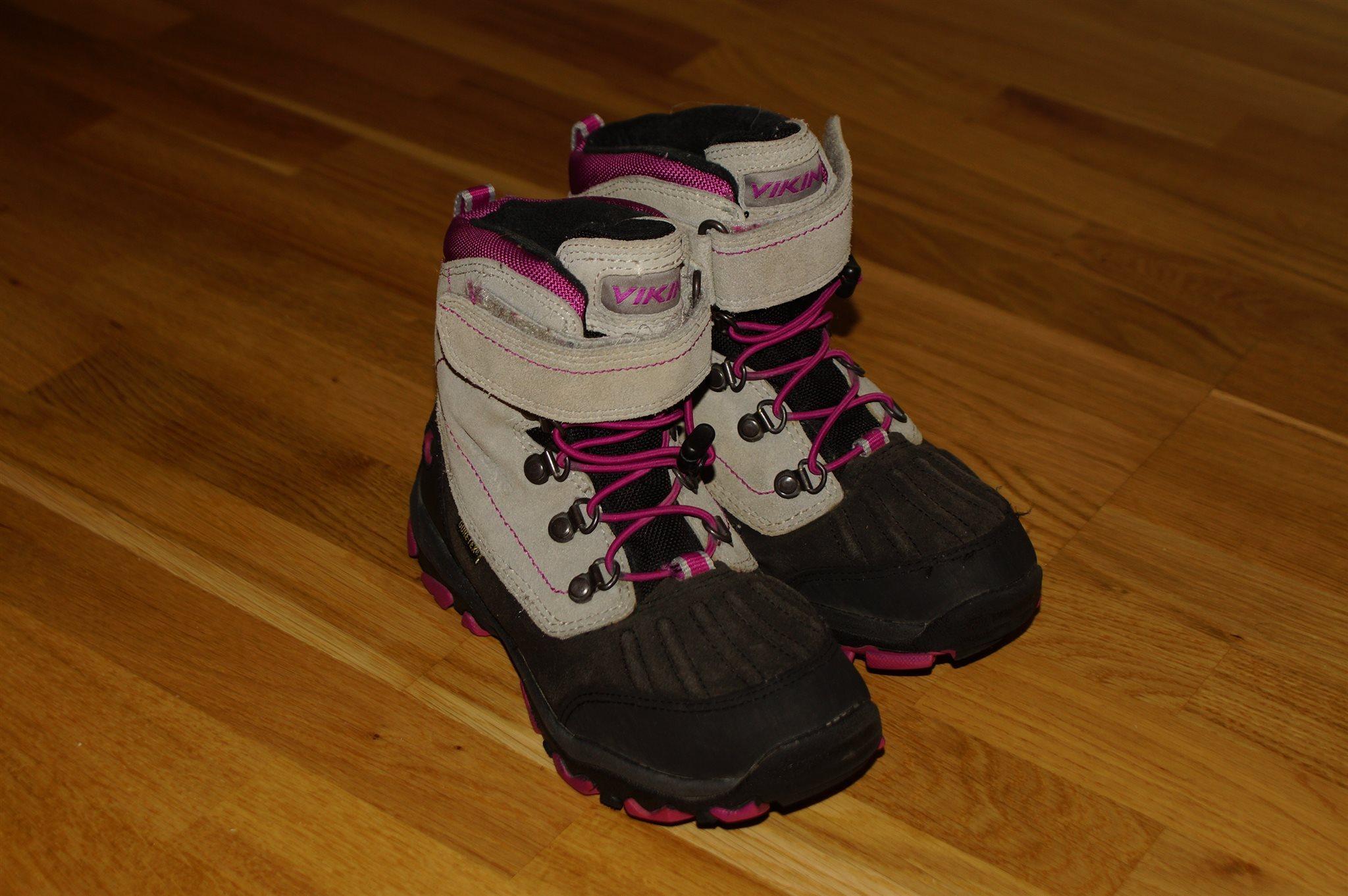 43eea20e2bb Viking Gore-Tex barnskor str 32 barn skor kängor fint skick vinterskor  vinter ...