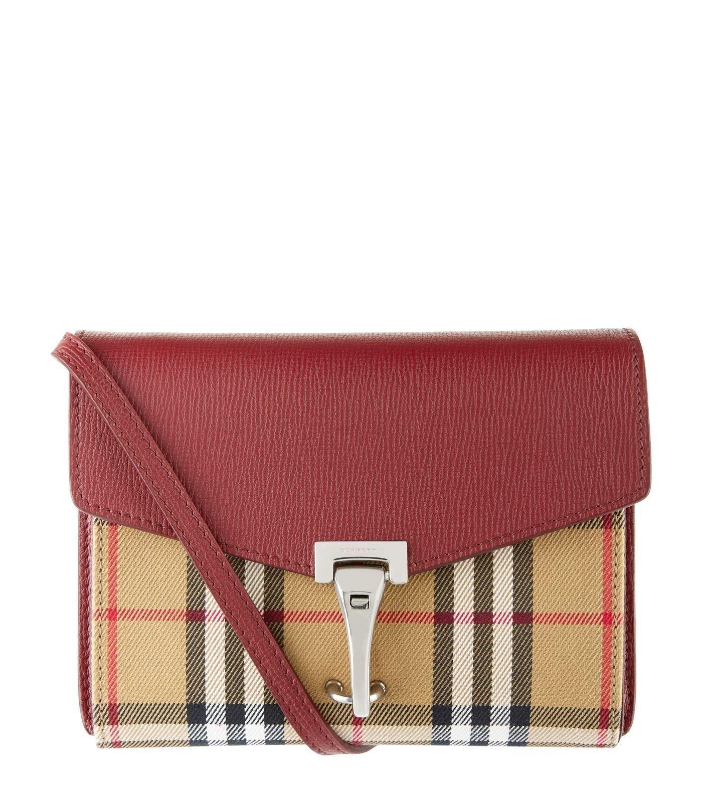 NY BURBERRY Macken crossbody väska med dustbag+.. (345163954