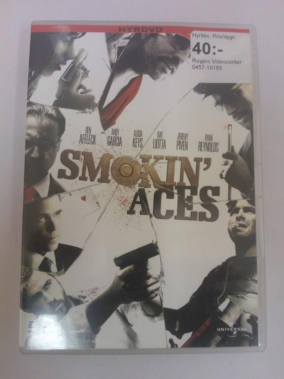 DVD - Smokin Aces