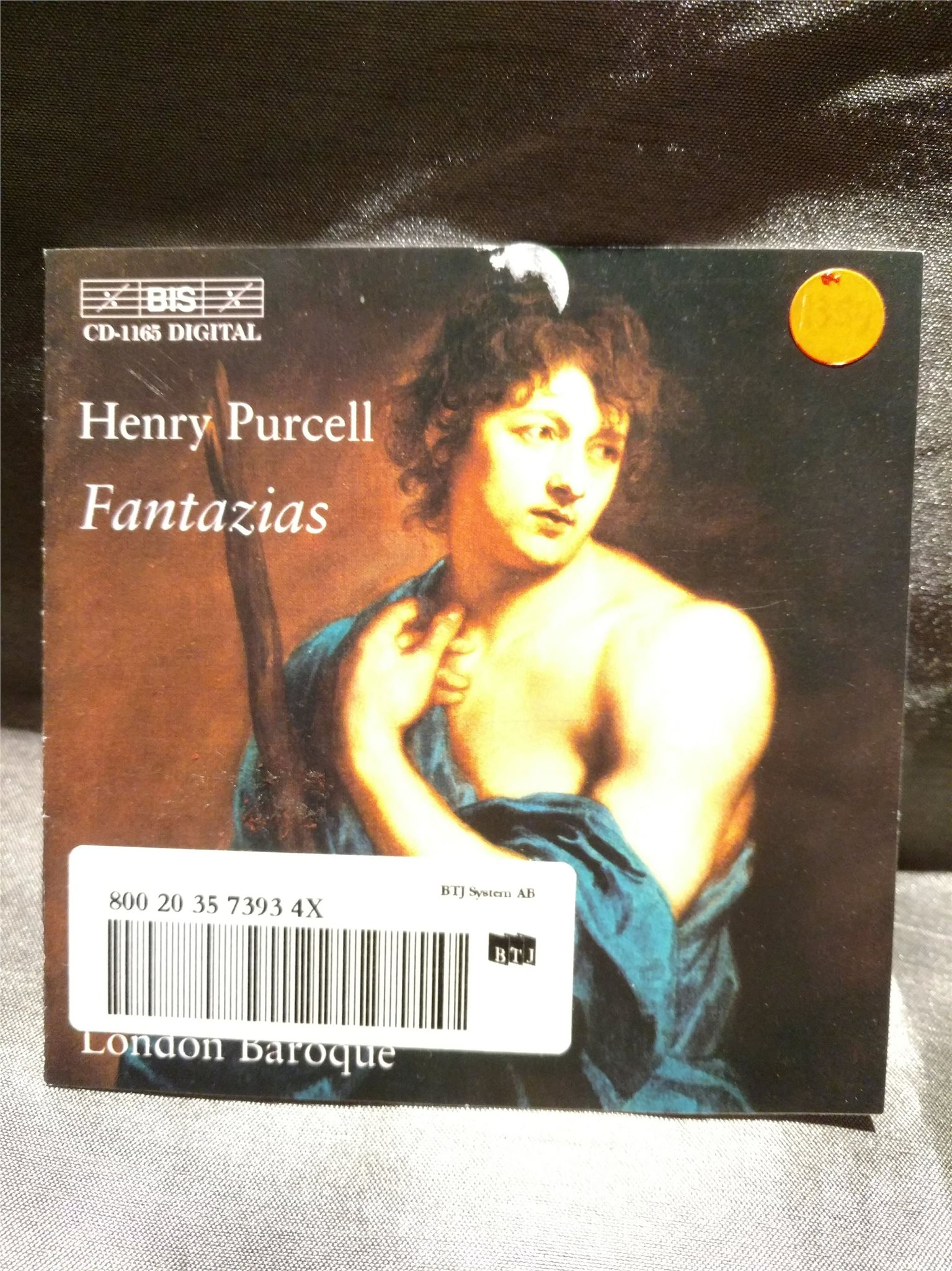 04ddc5d3a Henry Purcell. Fantazias. London Baroque (336300875) ᐈ Köp på Tradera