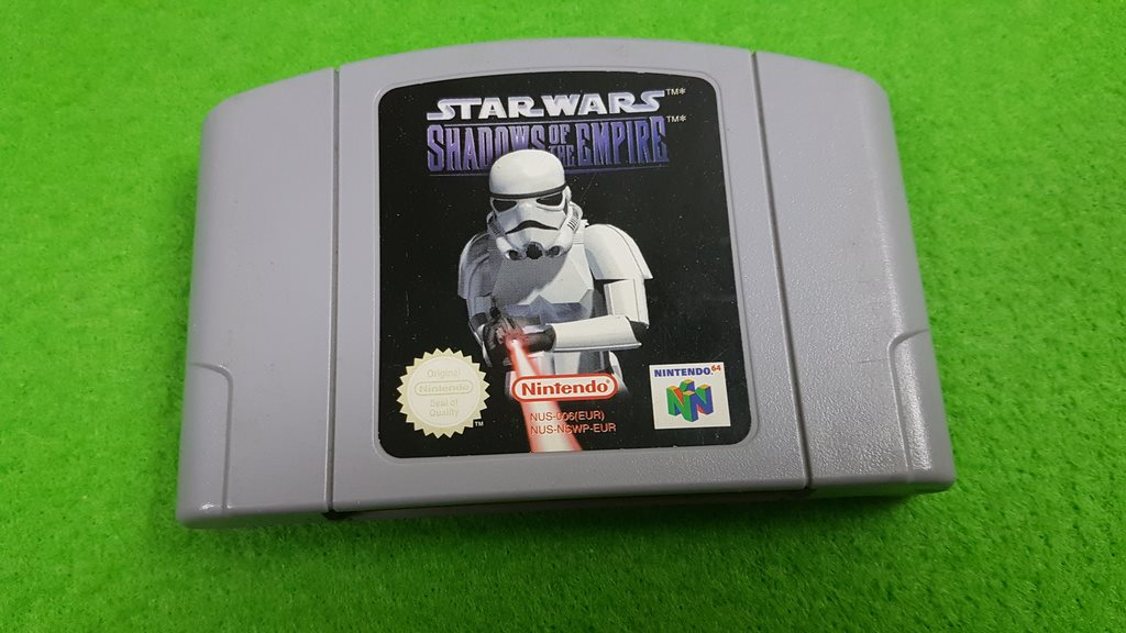 Star Wars Shadows of the Empire N64 Nintendo 64