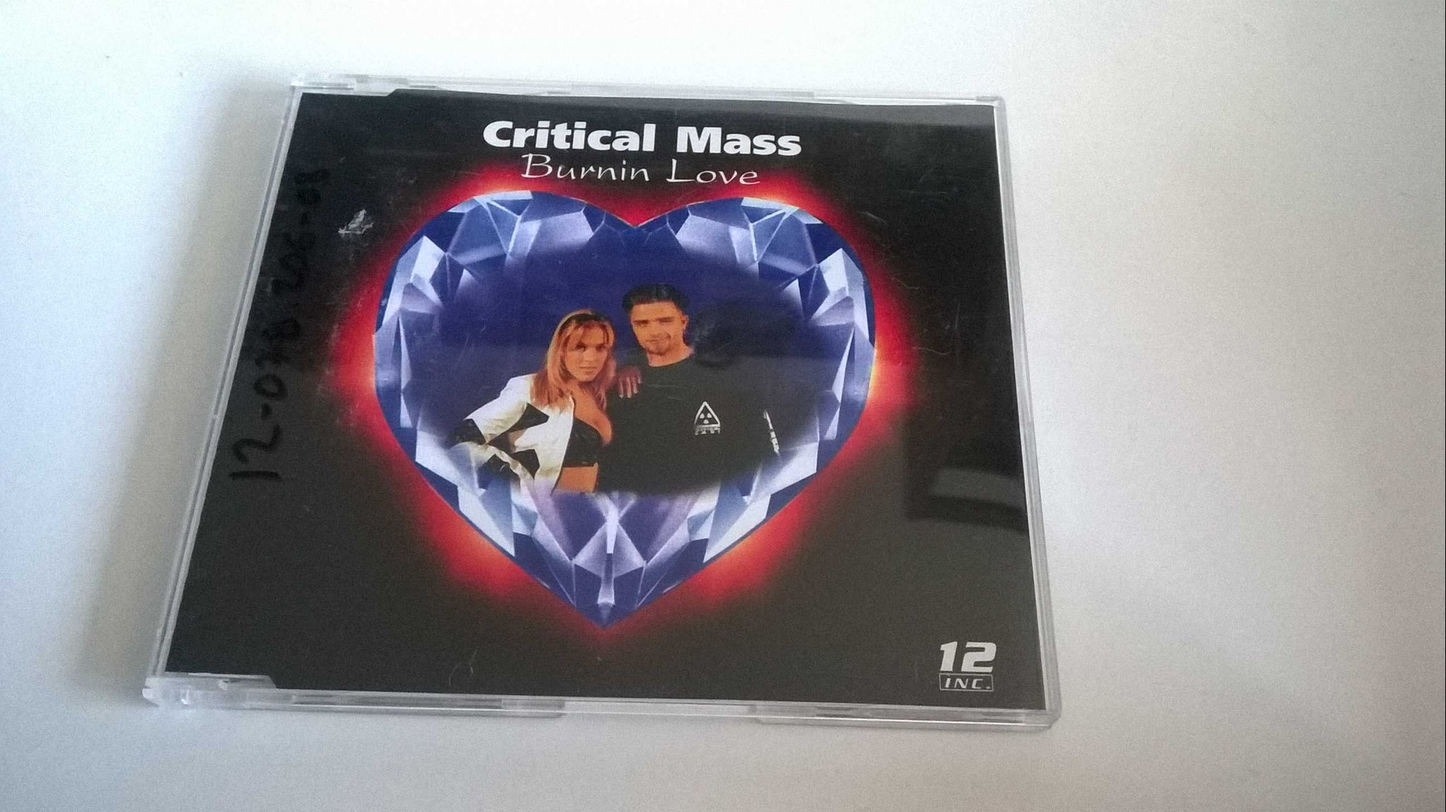 Critical Mass - Burnin' Love, CD