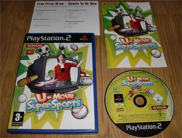 PS2: U-Move Supersports