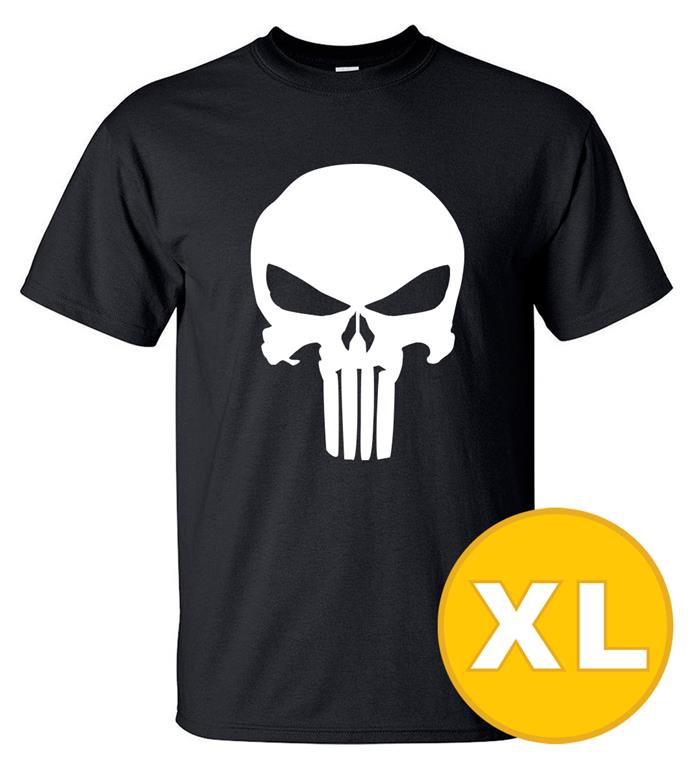 T-shirt The Punisher Svart herr tshirt XL