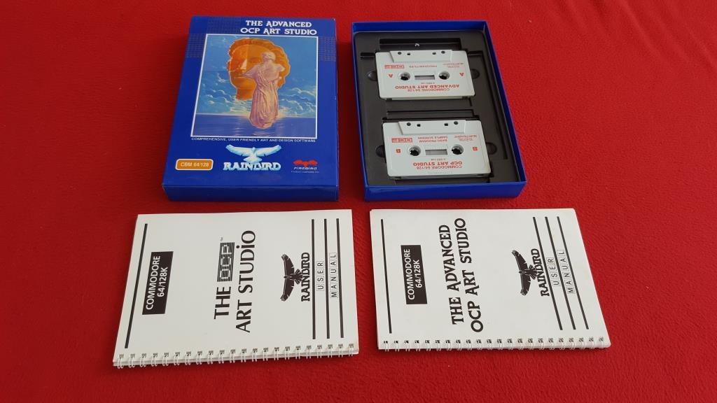 THE OCP ART STUDIO till Commodore 64 C64 (344800502) ᐈ game-world