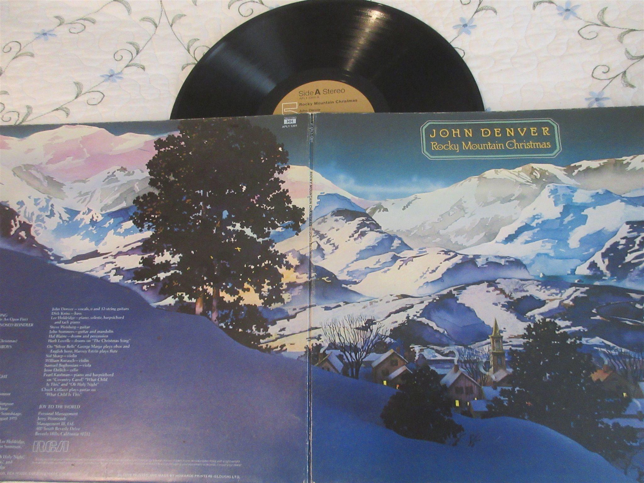 John Denver, Rocky Mountain Christmas. (317645869) ᐈ Köp på Tradera