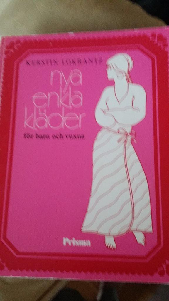 bok  handarbete Nya enkla Kläder Kerstin Lokrantz