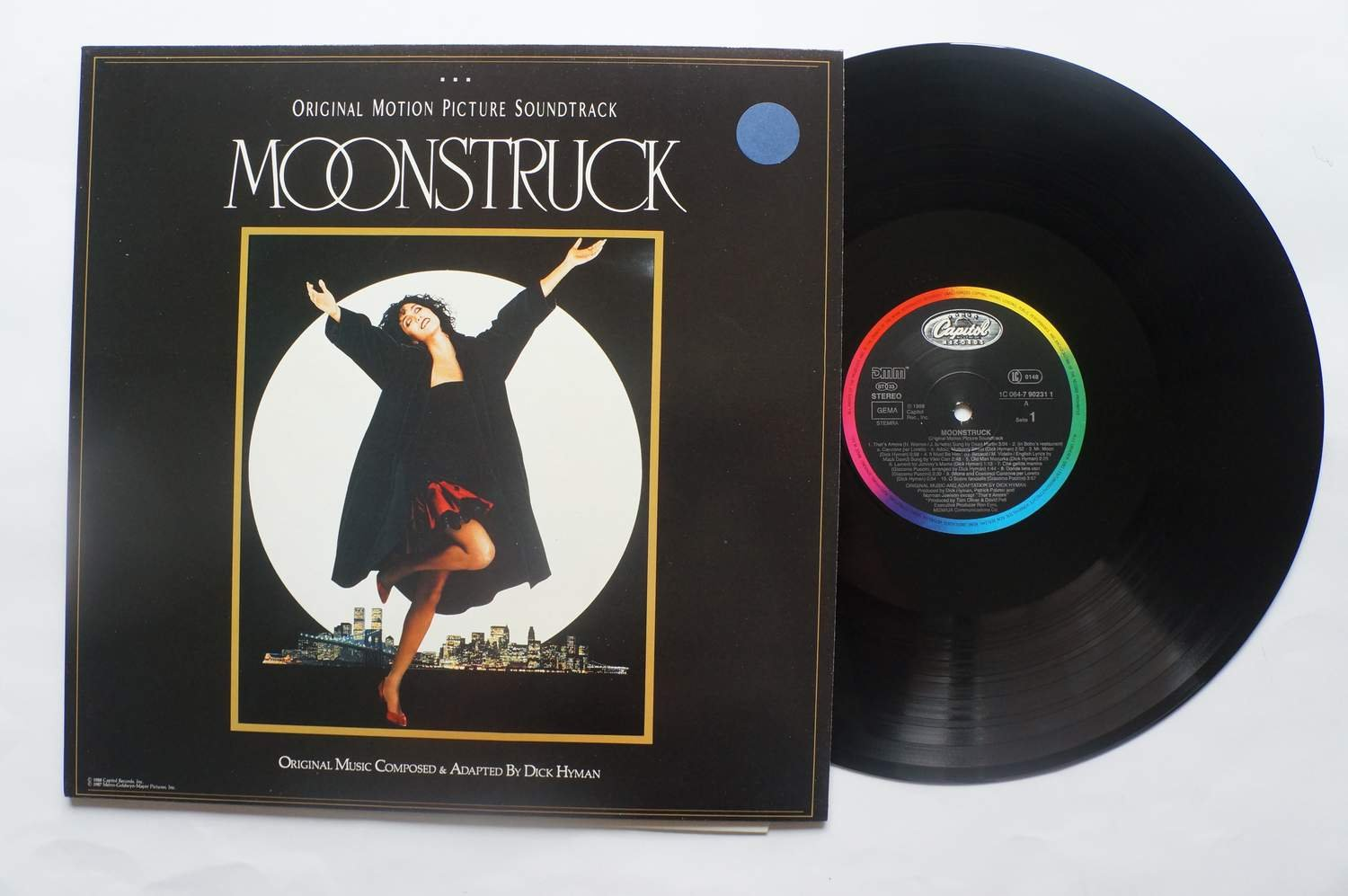 ** Dick Hyman ?– Moonstruck - Original Motion Picture Soundtrack - Mångalen **