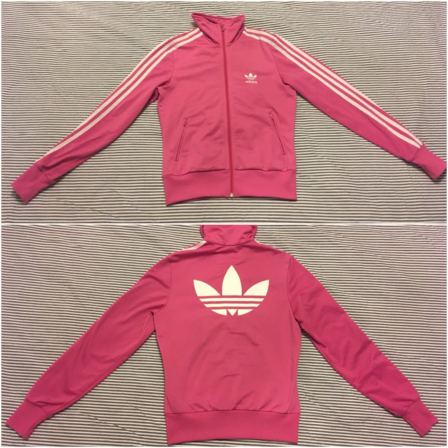 rosa adidas tröja