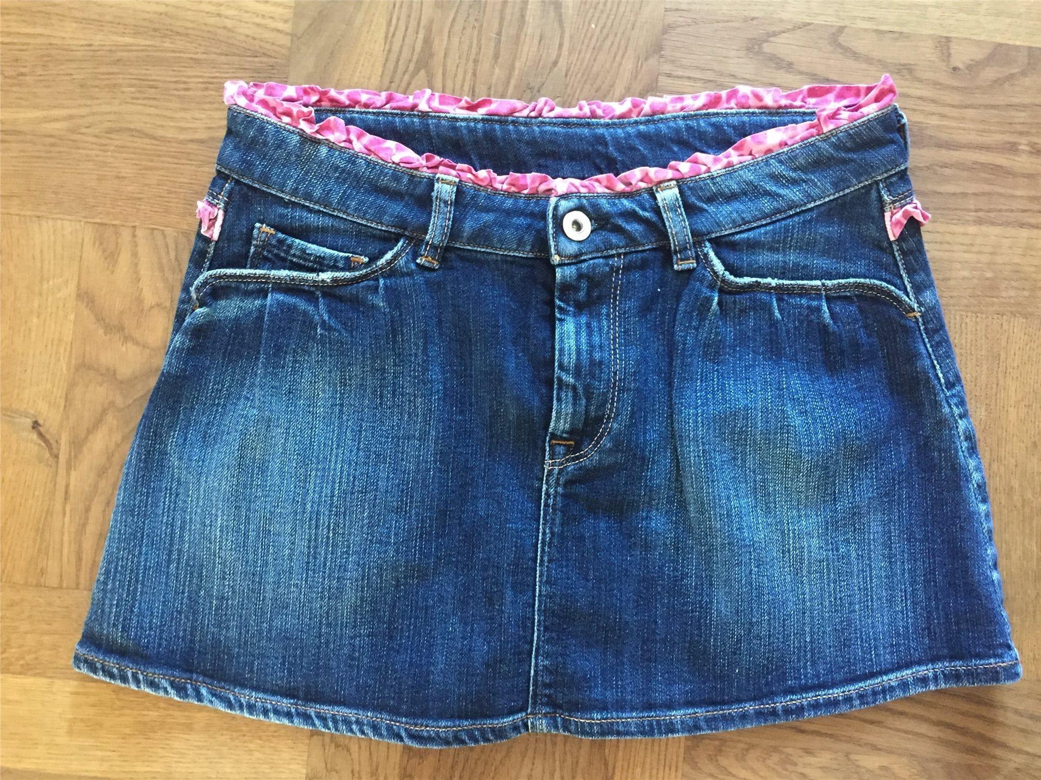 12a4cfc394cc Nolita jeanskjol, size 14 (78 cm runt om) (351708746) ᐈ Köp på Tradera