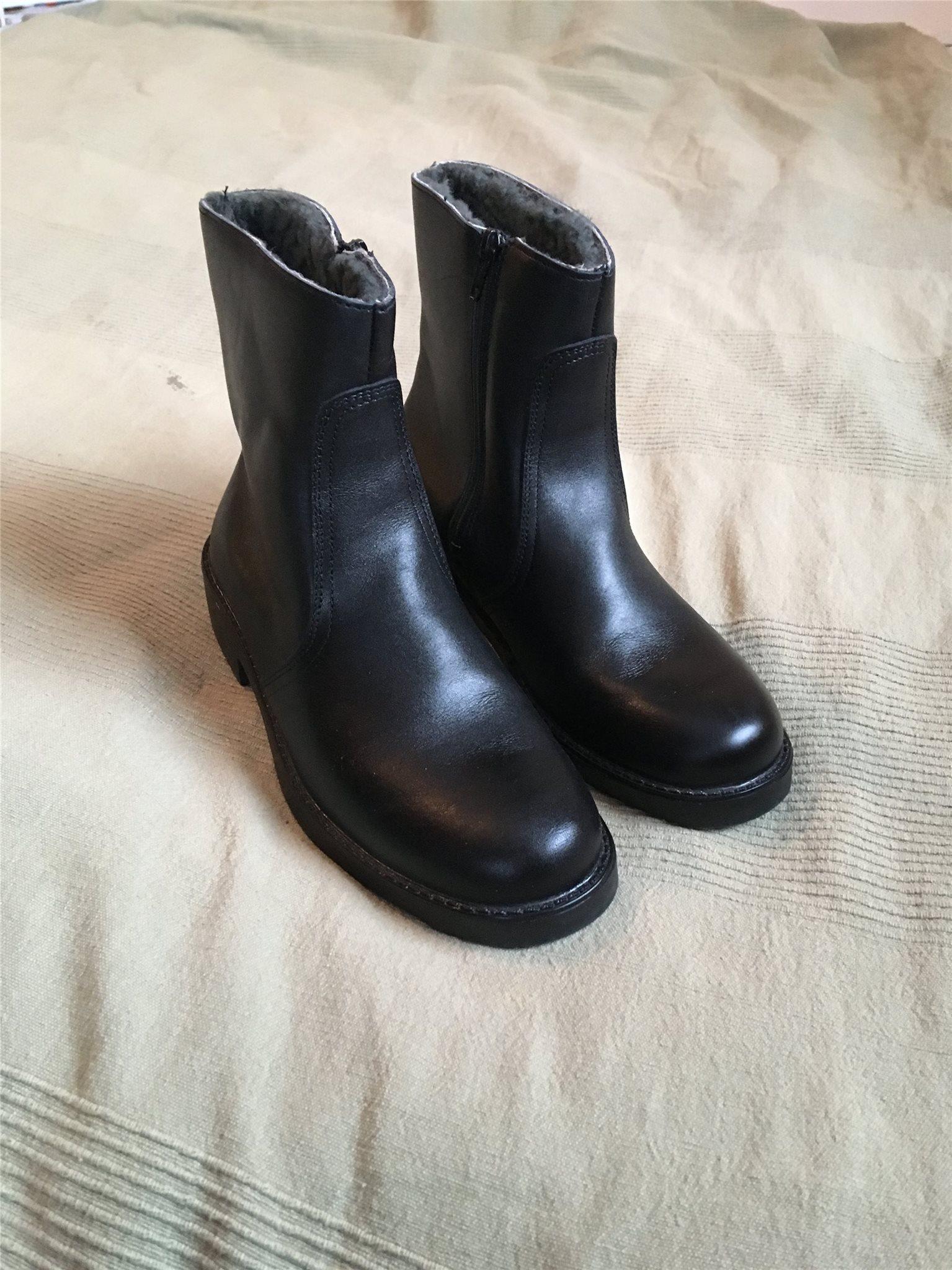 f82a78c0ac0 Nya, fodrade högskaftade skor med dragkedja, st.. (339382216) ᐈ Köp ...
