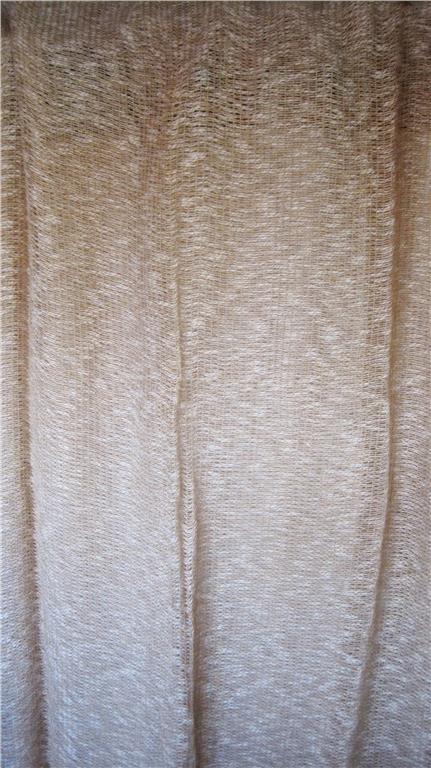 Gardiner, 3 - 5 st. gardinlängder, jute/bomull, retro, vintage,