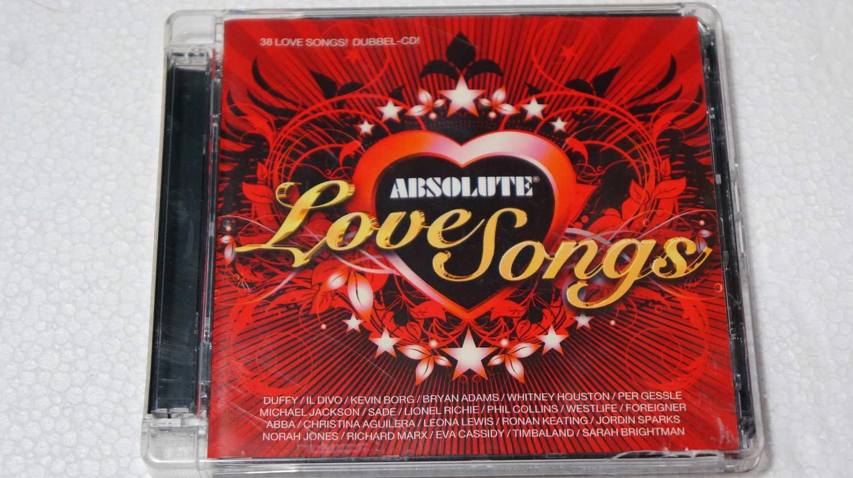 ABSOLUTE LOVE SONGS (2CD) (363065578) ᐈ Köp på Tradera