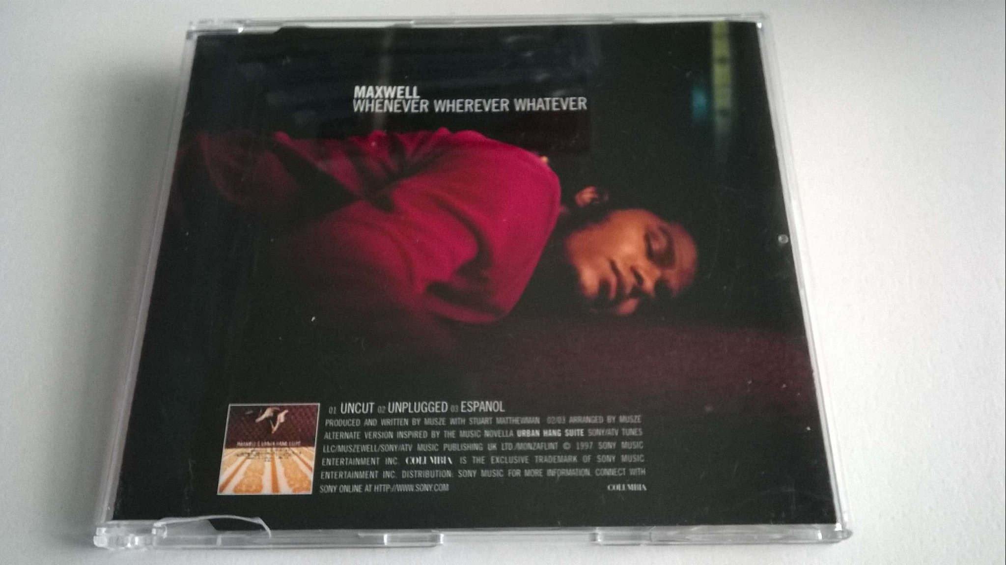 Maxwell - Whenever Wherever Whatever, CD, Single, promo!