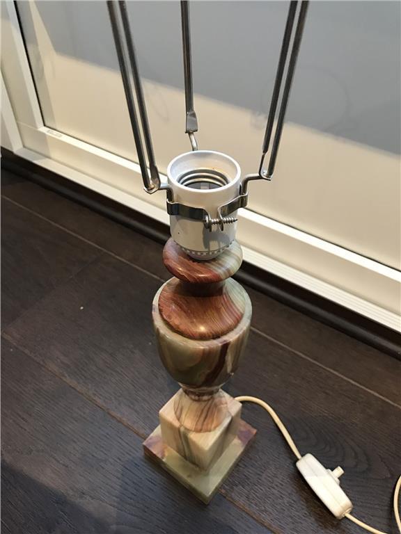 Bordslampa marmor Italien på Tradera.com - Bordslampor | Lampor ...