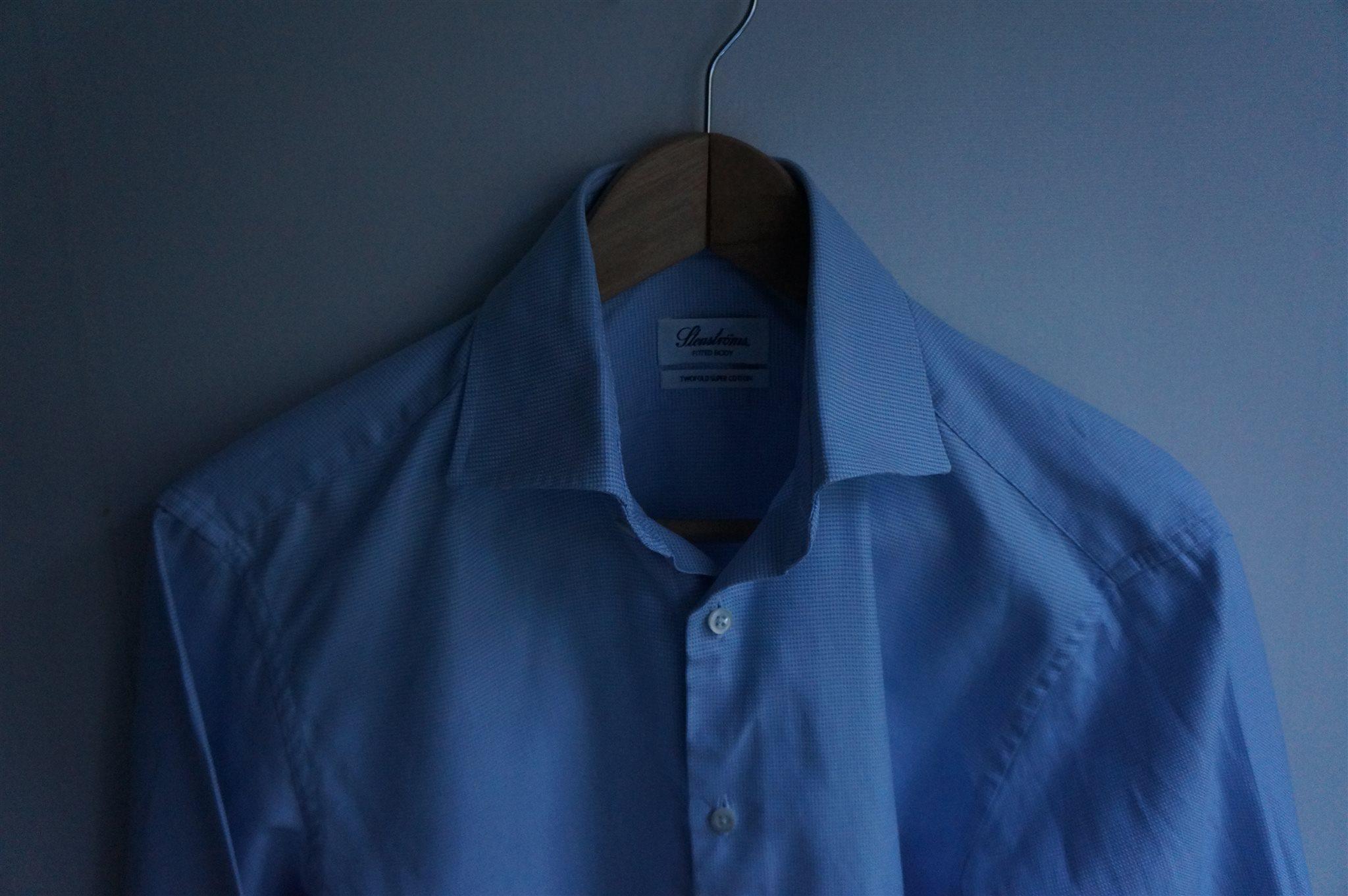 Ljusblå skjorta från Stenströms i storlek 38 Sm.. (336038903) ᐈ Köp ... 84cb715400d7e
