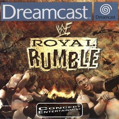 WWF ROYAL RUMBLE (komplett) till Sega Dreamcast