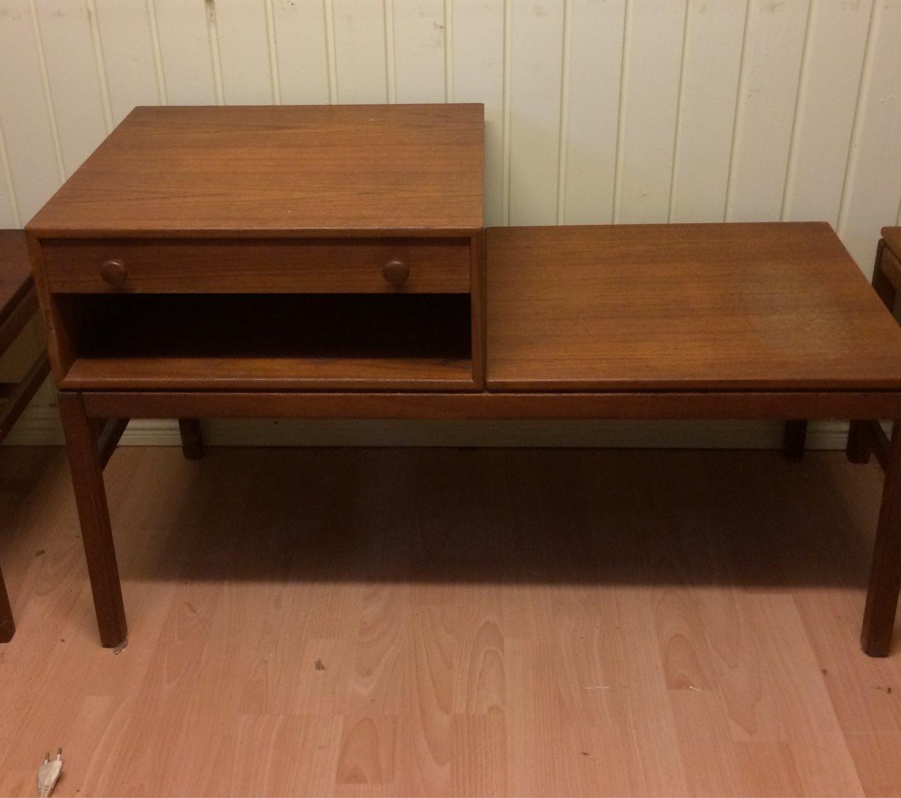 Tingströms sideboard teak 3 delar Bra Bohag retro 60-tal bord kult : 50 tals bord : Inredning
